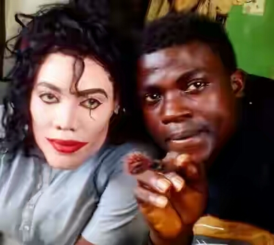 See How A Nigerian Makeup Artist Transformed A Lady Into Michael Jackson