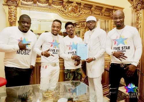 War in Five Star Music as Record Label Battles Harrysong Over 'Peace Concert'