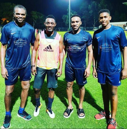 Jay Jay Okocha's Son Is Now A Full Grown Man! (See Photo)