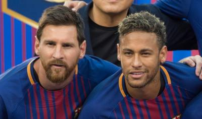 Neymar responds to Messi's farewell message