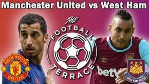 LIVE STREAM: Manchester United Vs WestHam English Premier League