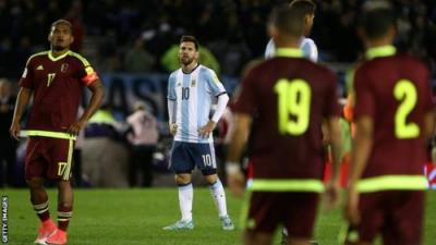 Lionel Messi In Danger Of Missing Out On Russia World Cup 2018 After 1-1 Draw Against Venezuela