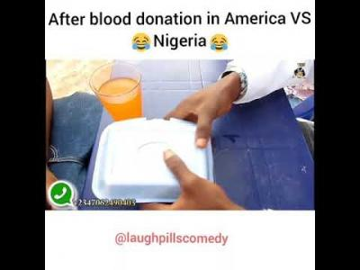 Video: LaughPills Comedy – Blood Donation (America vs Nigeria)