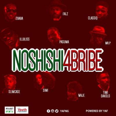 Music Lyrics: 2Baba, Simi, Pasuma, Falz x Mr P x Slimcase & Others – No Shishi 4 Bribe