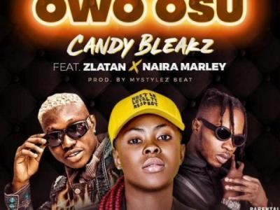MP3 : Candy Bleakz – Owo Osu ft. Zlatan, Naira Marley