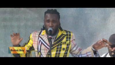 Watch Highlights Of Burna Boy's Coachella Performance