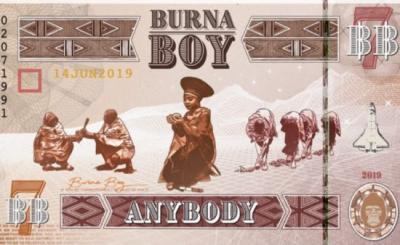 Lyrics: Burna Boy – Anybody